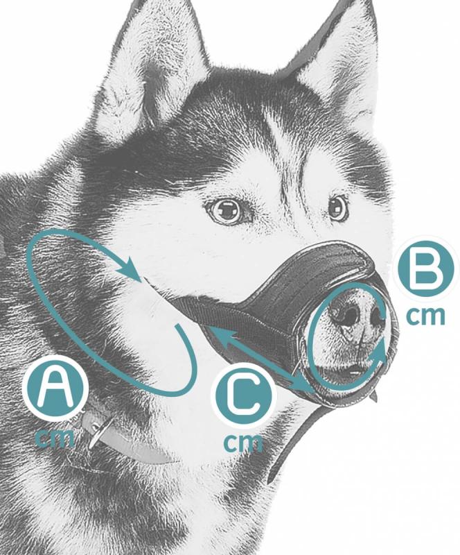 Muselière tissu réglable SAFE Boxer