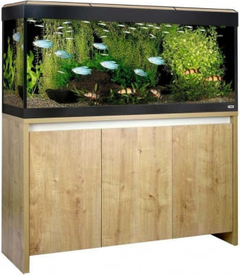 Aquarium ROMA OAK 240 Led couleur chêne