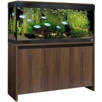 Aquarium ROMA WALNUT 240 Led couleur noyer (1)