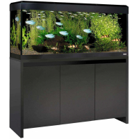 Aquarium ROMA BLACK 240 Led coloris noir