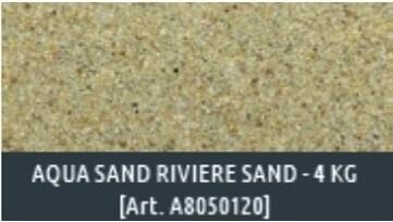 Aqua Sand Sable de rivière fin naturel