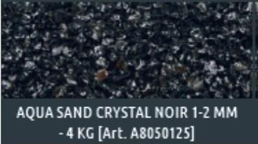 Aqua Sand kristall schwarz