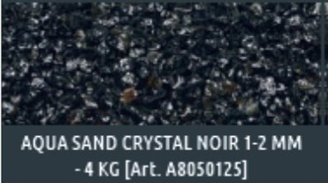 Aqua Sand crystal noir naturel