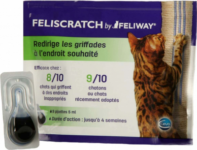 FELISCRATCH by feliway éducation griffades
