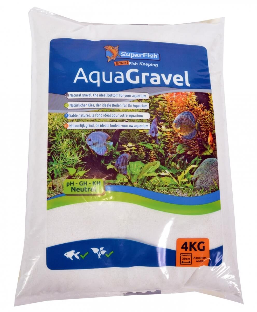 Aqua sand sable fin naturel blanc neige sable et gravier for Sable pour aquarium