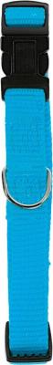 Collier nylon réglable turquoise
