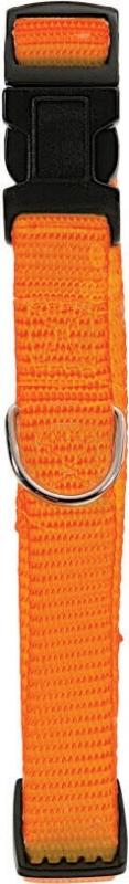 Collier nylon réglable orange