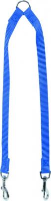 Accouple nylon 40cm bleu