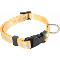 Collier nylon Pocket Dog jaune