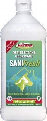 Sanifresh désinfectant odorisant sols et surfaces lavables