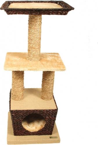 Arbre à chat osier ZOLIA MATYS 98cm