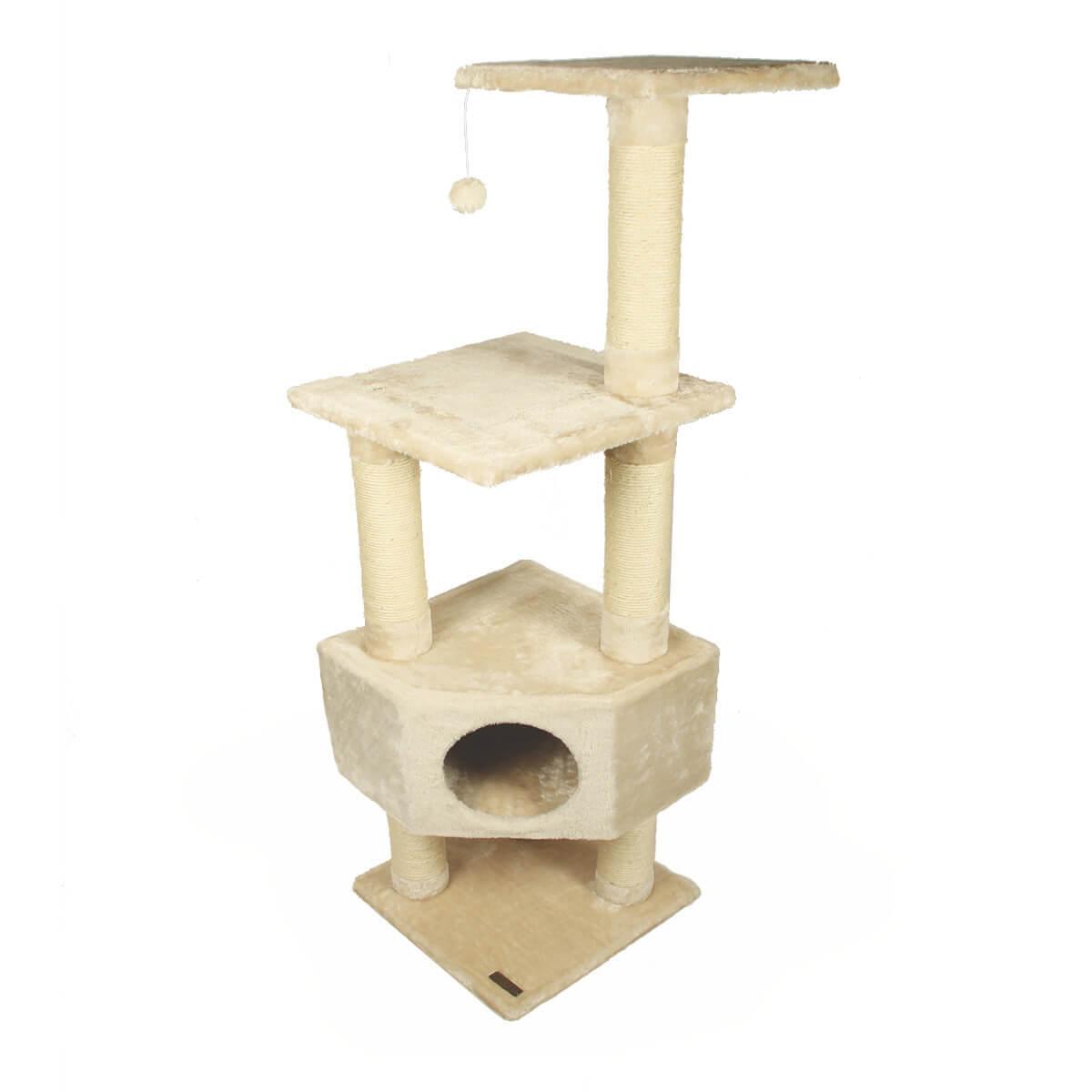 arbre chat zolia luna 135cm arbre chat. Black Bedroom Furniture Sets. Home Design Ideas