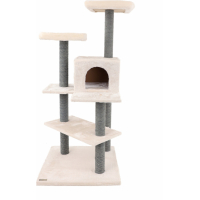 Cat scratching post systems