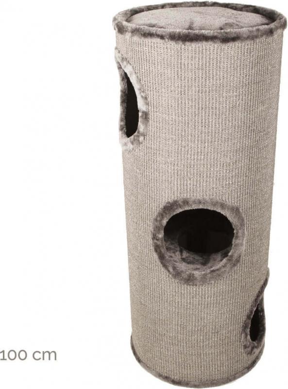 Arbre à chat et tour à griffer combinés ZOLIA Kahupo 70 et 100cm