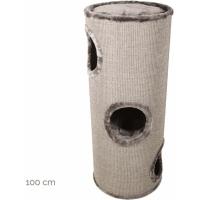 Arbre à chat et tour à griffer combinés ZOLIA Kahupo 70 et 100cm (2)