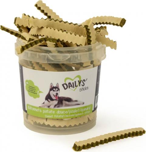 Friandises Poulet et aux légumes DAILYS pour chiens