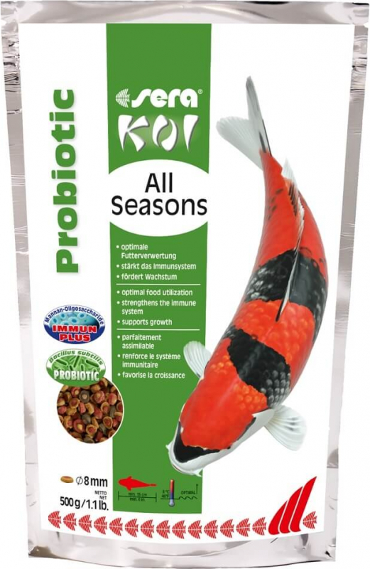 Sera Koi All Seasons Probiotic