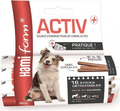 Friandises pour chien Activ+ Sticks