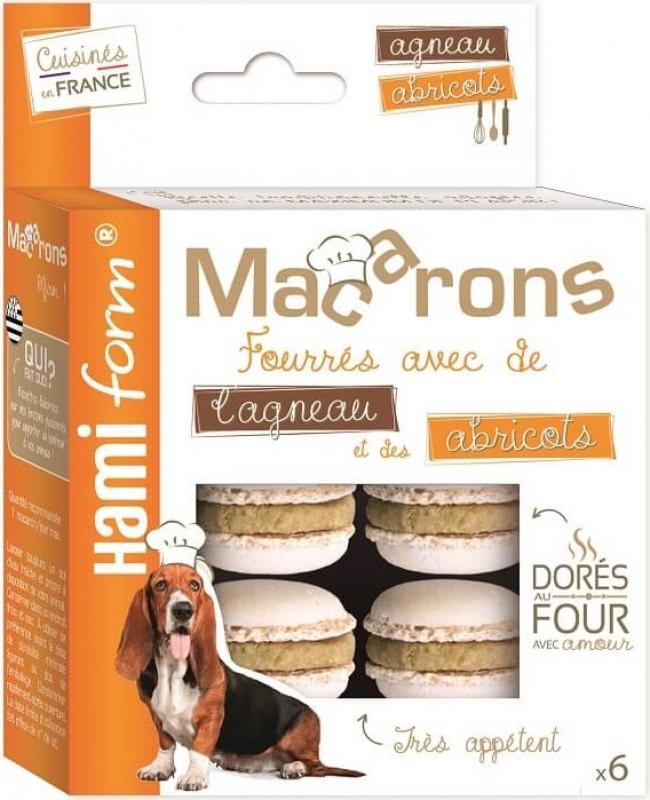 HAMIFORM Emotion - Macarons Fins Gourmets pour Chien - 4 Saveurs au choix