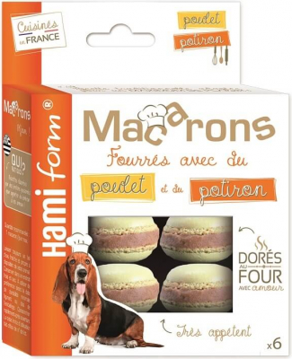 EMOTION Biscuits macarons pour chien