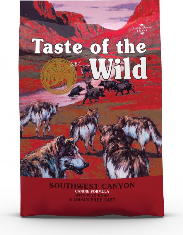 TASTE OF THE WILD Southwest Canyon Sin Cereales de Jabalí para perro