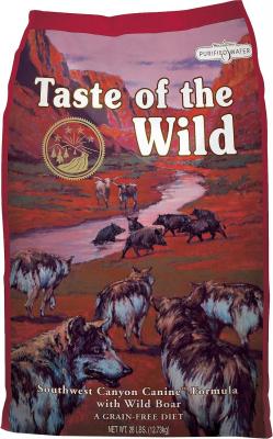 TASTE OF THE WILD Southwest Canyon Sans Céréales au Sanglier pour chien