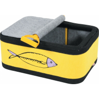 Boîte à chat Sardine en feutrine