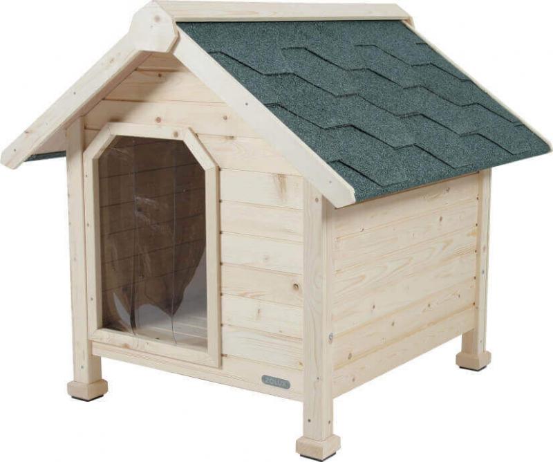 Niche chalet en bois pour chiens