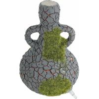 Décor bouteille Vino Etna avec diffuseur d'air et mousse synthétique
