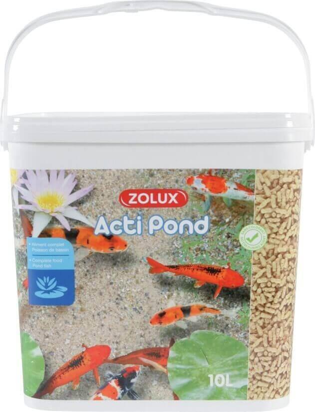 Aliment complet Acti Pond Stick pour poissons de bassin_0