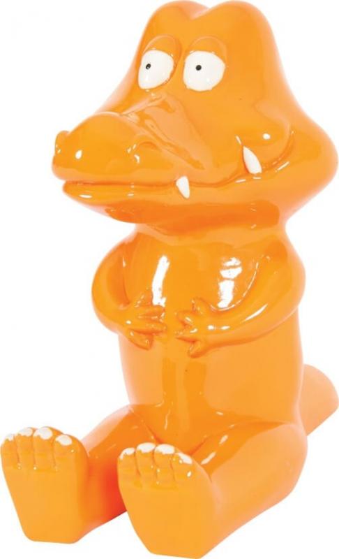 Décor Crocodile Aquatic Jungle Orange