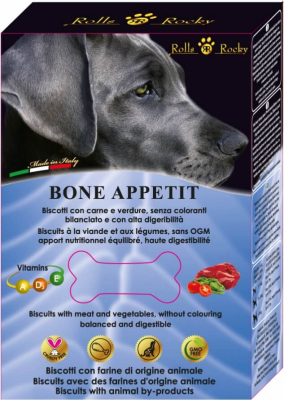 Biscuits naturels Bone Appetit ROLL'S ROCKY