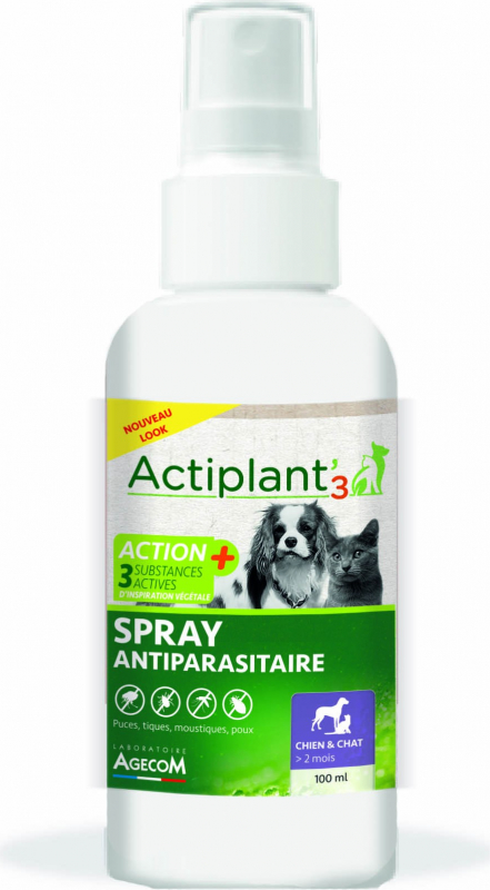 ACT3 Spray antiparasitaire