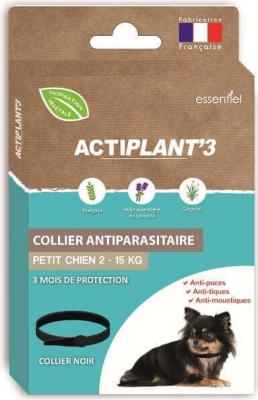 Collar ActiPlant'3 insecticida antiparasitario para perros