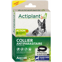 Collier ACT3 insectifuge antiparasitaire pour chien