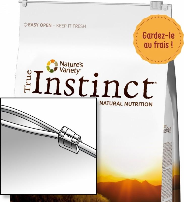 TRUE INSTINCT Sans Céréales Medium Maxi Junior Saumon