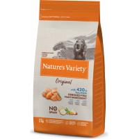 NATURE'S VARIETY Original Chien Medium Maxi Adulte au saumon sans arêtes et sans céréales