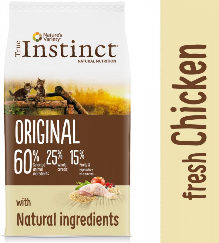 TRUE INSTINCT Original Chaton au poulet