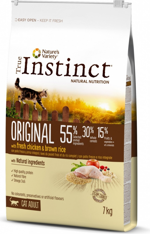 TRUE INSTINCT Original Chat adulte au poulet