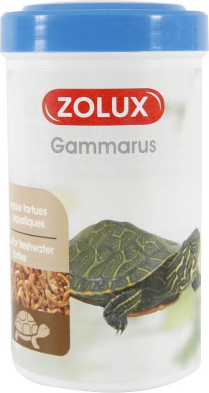 Alimento para tortuga de agua Gammarus