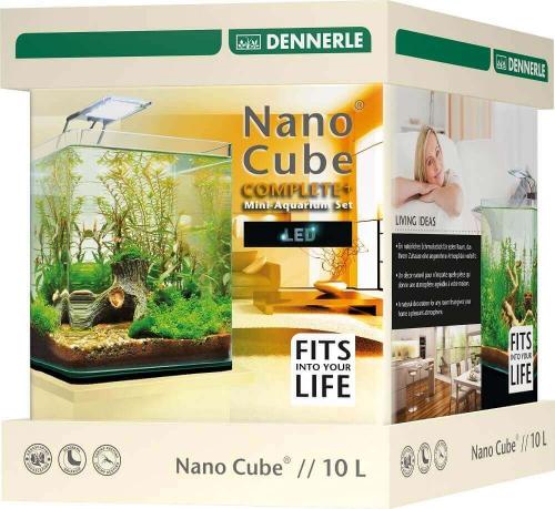 DENNERLE Aquarium NanoCube Complete Plus LED