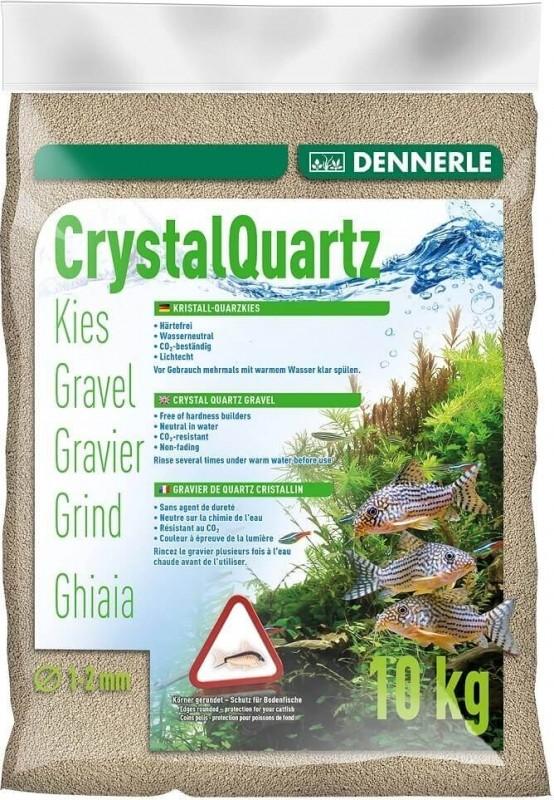 Dennerle Gravier quartz cristallin blanc nature 1-2mm