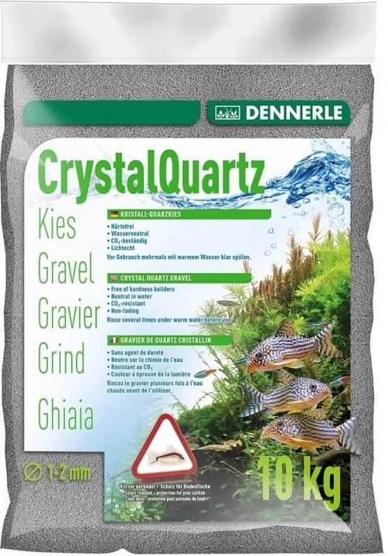 DENNERLE Gravier quartz cristallin gris ardoise 1-2mm