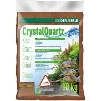 DENNERLE Gravier quartz cristallin brun fauve 1-2mm