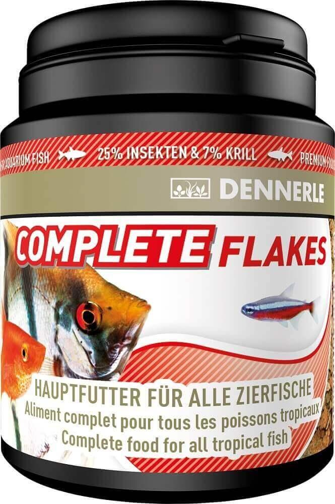 Complete flakes dennerle flocons pour poissons tropicaux for Flocon pour poisson