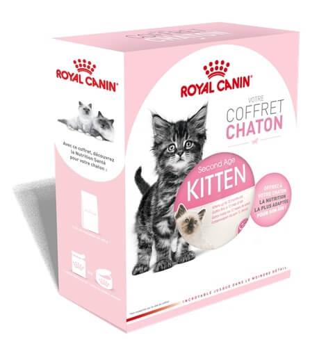 royal canin coffret de bienvenue complet pour chaton p t e pour chat. Black Bedroom Furniture Sets. Home Design Ideas