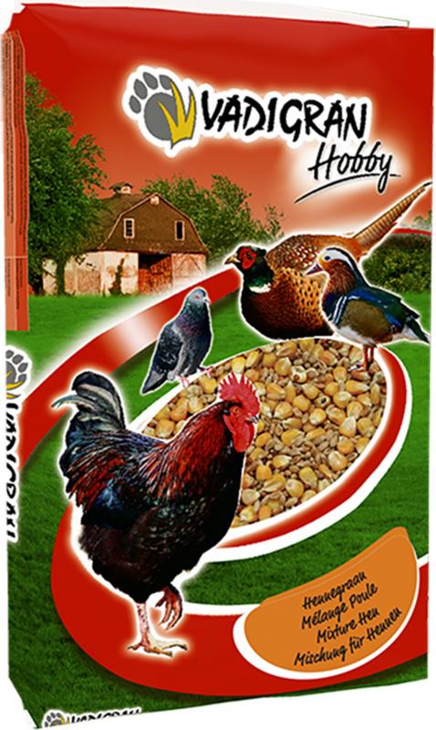 HOBBY mélange de graines au maïs entier pour poules & dindons