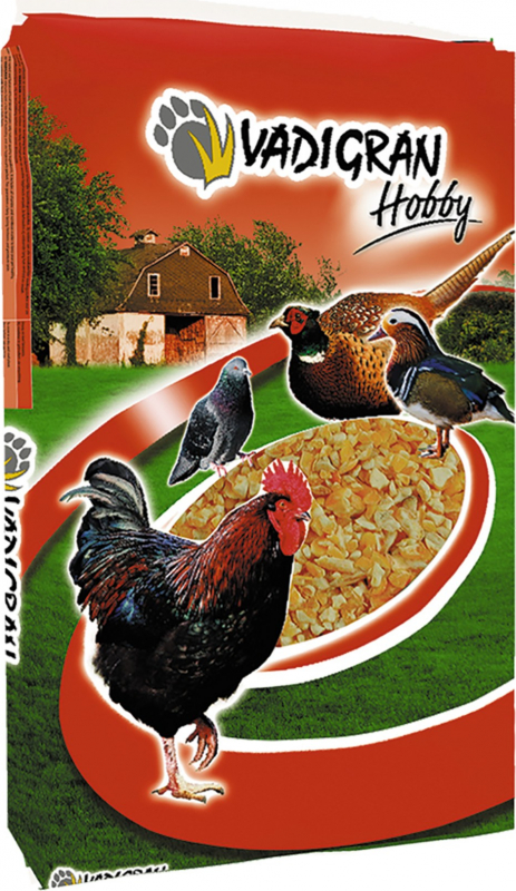 HOBBY Maïs concassé pour poules et poussins