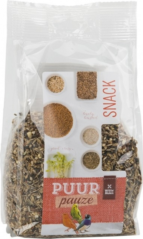 Witte Molen Purr Pauze Snack Mix Graines sauvages
