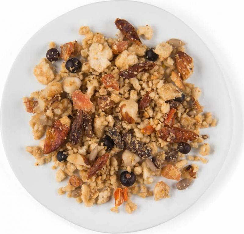 Golosina Crumble Fruta & Nueces PUUR
